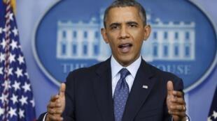 Barack Obama, em 8 de outubro de 2013