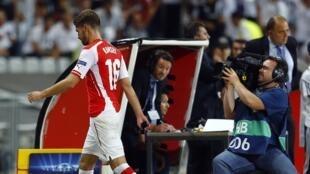Aaron Ramsey et ses coéquipiers d'Arsenal n'ont pas réussi à l'emporter sur le terrain du Besiktas Istanbul (1-1), le 19 août 2014.
