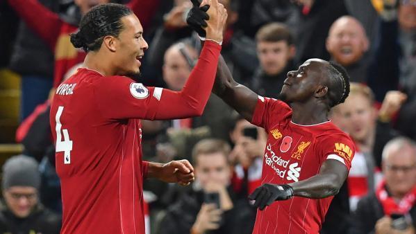 Virgil van Dijk et Sadio Mané, joueurs de Liverpool, terminent respectivement 2e et 4e du Ballon d'Or 2019.