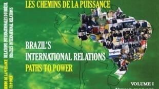 """Capa do livro """"As relações internacionais do Brasil"""", publicado na França."""