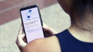 Comme en Corée du Sud, à Singapour, le traçage numérique est appliqué à la population. (Photo d'illustration).