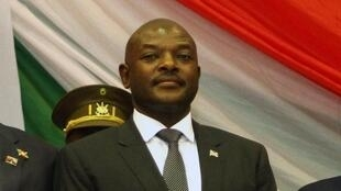 Rais wa Burundi Pierre Nkurunziza, Agosti 20, 2015.
