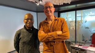 Musique - Patrick Bebey - Vincent Mahey -  studio RFI - Epopée des musiques noires 30 mai 2021 - Francis Bebey