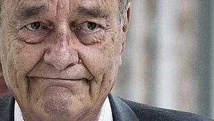 Жак Ширак на фотографии во время одного из последних публичных появлений в июле 2011 года