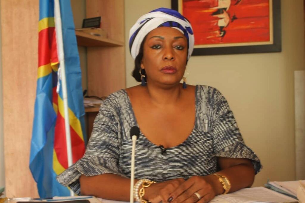 Mgombea urais nchini DRC Marie-Josée Ifoku