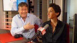 La coreógrafa española Rocío Berenguer con Jordi Batallé en RFI