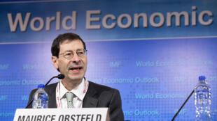 Economista-chefe do FMI, Maurice Obstfeld, anuncia redução da previsão do crescimento mundial em 2016, nesta terça-feira (19).