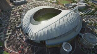 """طرح ورزشگاه بزرگ """"خلیفه"""" قطر برای سال ٢٠٢٢"""