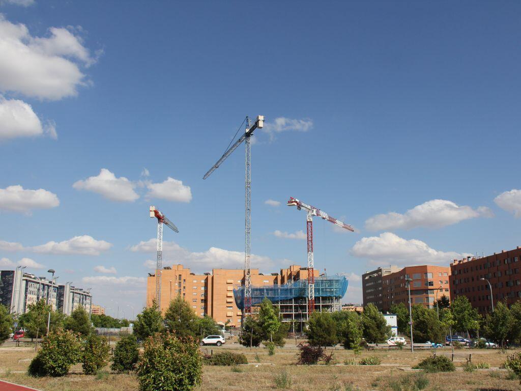 La construction immobilière est repartie de plus belle en Espagne.