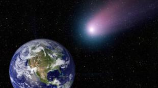 Des comètes auraient-elles pu apporter sur Terre des éléments nécessaires à la vie ?