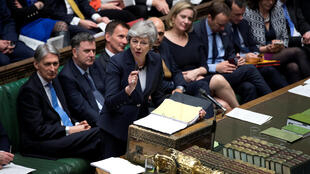 British Prime Minister Theresa May in House of Commons, 27 March 2019