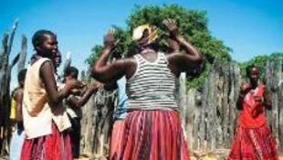 Habitantes do Cunene, no sul de Angola