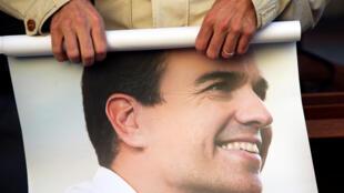 Pedro Sanchez était le tenant d'une ligne très dure à l'égard du gouvernement de droite.