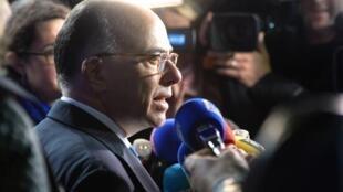 Бернар Казнев на встрече министров внутренних дел в Монако 04/11/2014