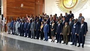 Viongozi wa mataifa ya Afrika wakikutana jijini Addis Ababa nchini Ethiopia