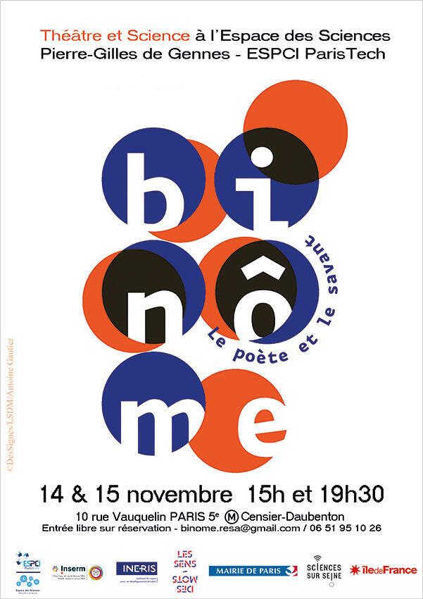 Affiche «Binôme».