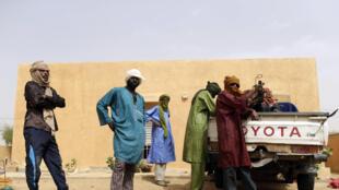 Des rebelles du MNLA (Mouvement national de libération de l'Azawad), ici photographiés à Kidal dans le nord du Mali