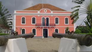 Praça Marcelo da Veiga, Santo António, Ilha do Príncipe