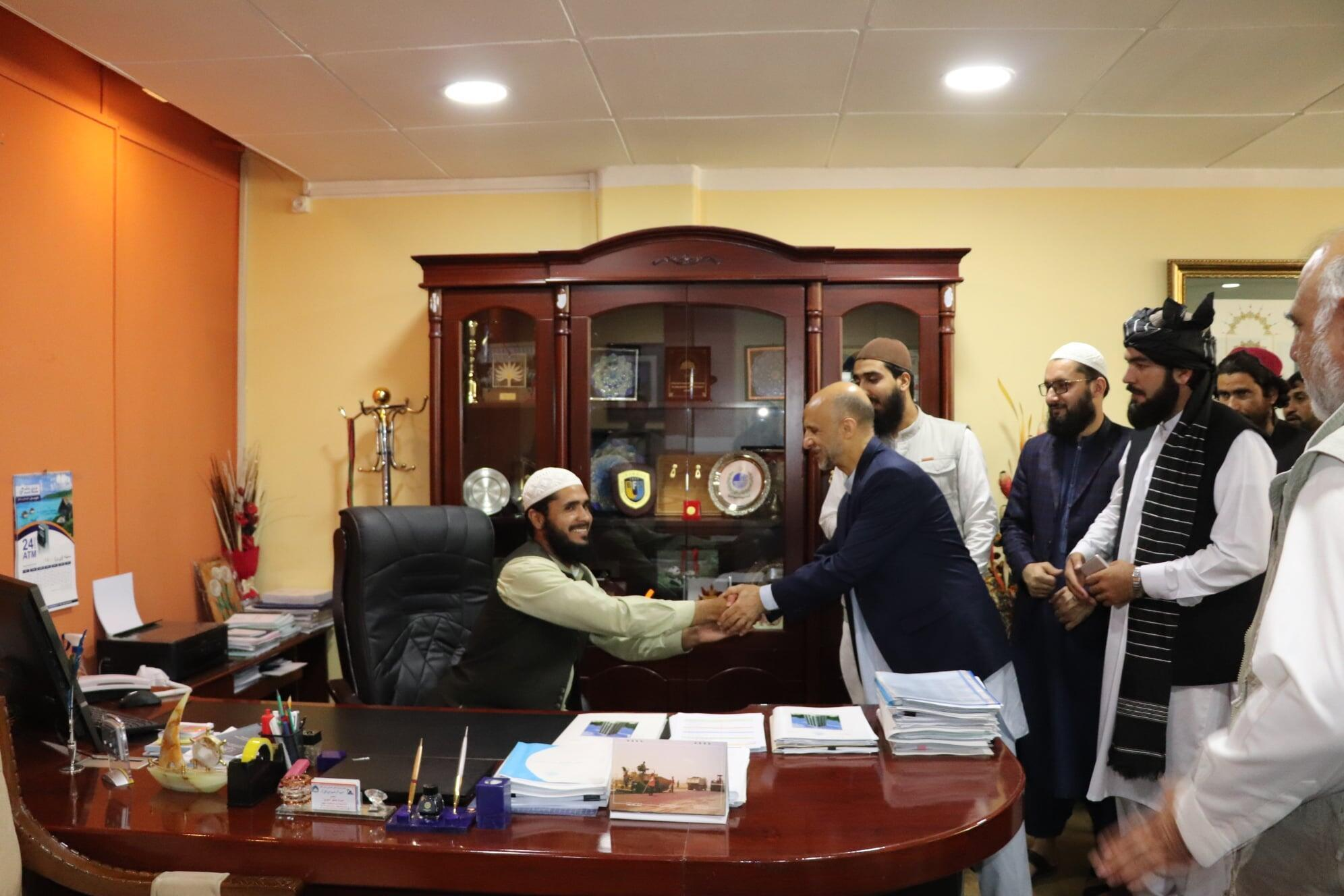 Afghanistan-Directeur del'université de Kaboul