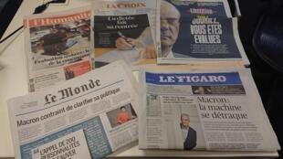 Diários franceses 03.09.2018