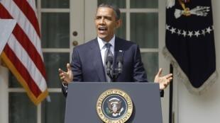 Presidente Barack Obama durante anúncio de novas medidas econômicas em Washington.
