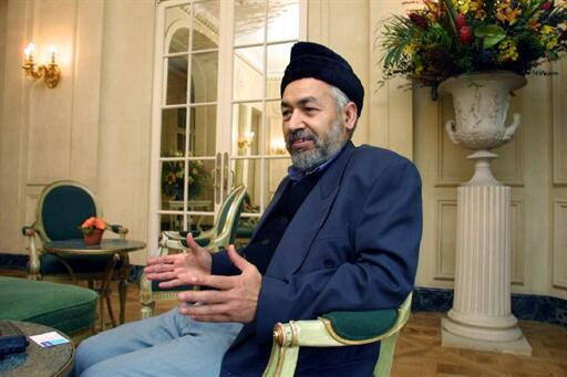 Rached Ghannouchi in London, 30 November 2000