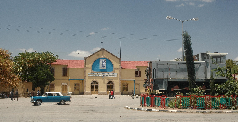 La gare de Dire Diwa, ville natale du président djiboutien Guelleh.