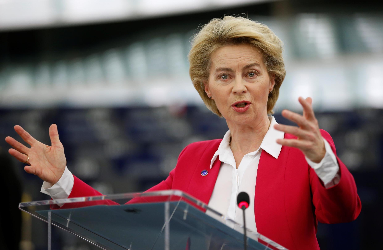 Ursula von der Leyen, presidente da Comissão Europeia.