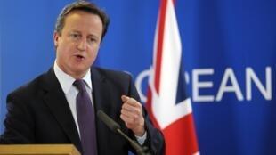 Cameron impôs condições para proteger os investimentos na City de Londres.