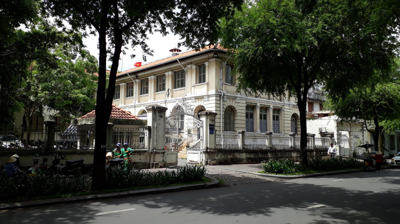Tòa nhà Dinh Thượng Thơ, nay là trụ sở của Sở Thông tin và Truyền thông TP HCM. (Ảnh do tác giả tặng RFI)