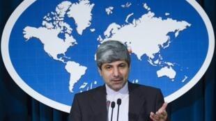 رامین مهمان پرست، سخنگوی وزارت خارجه ایران