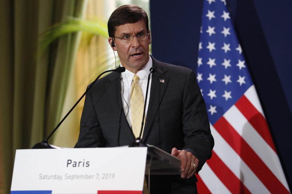 Bộ trưởng Quốc phòng Mỹ Mark Esper muốn tập trung lực lượng đối phó với Nga và Trung Quốc.