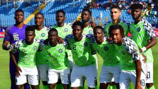L'équipe du Nigeria, en juin 2019.