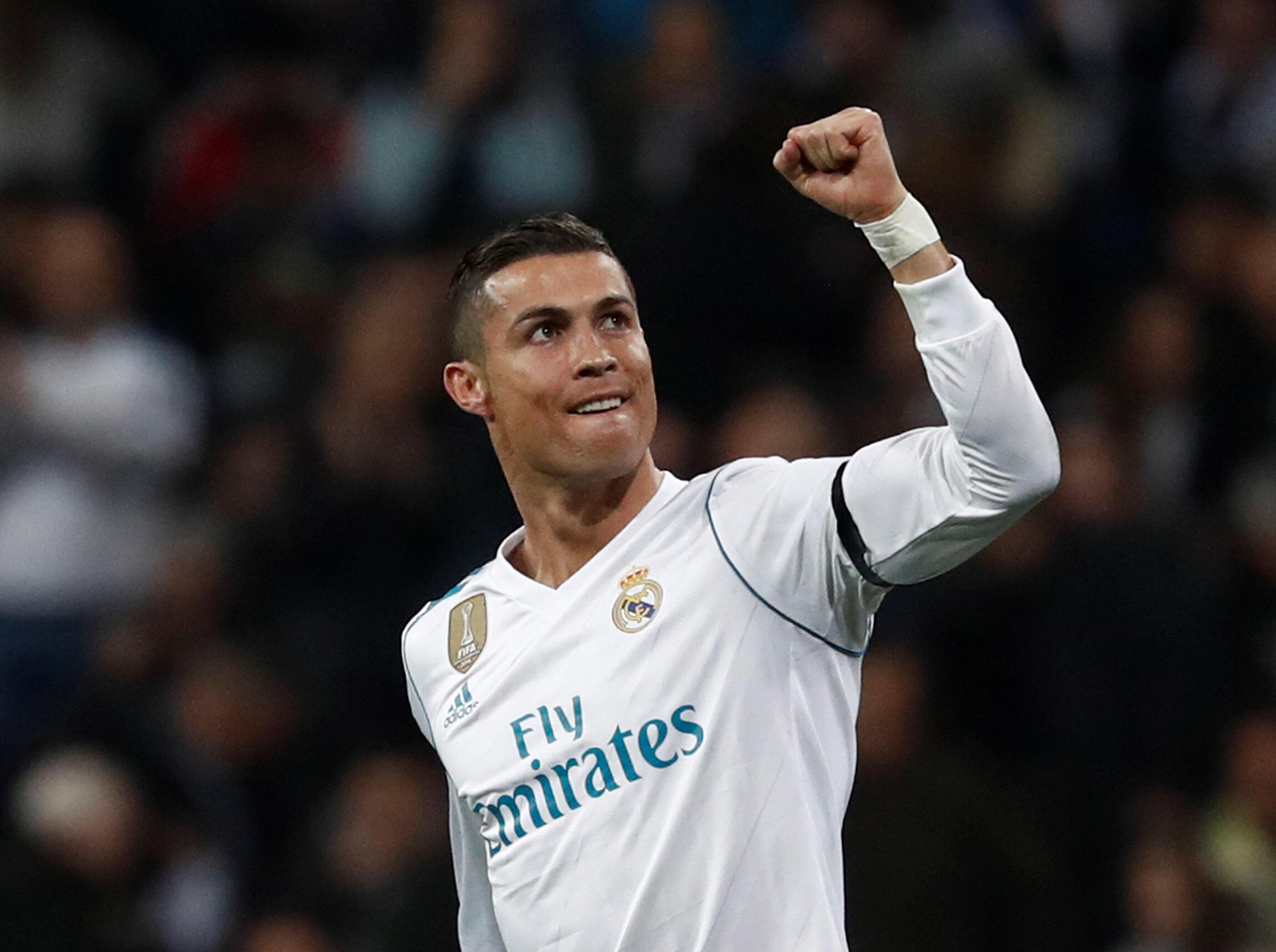 Cristiano Ronaldo se tornou o primeiro jogador a marcar em todos os jogos da fase de grupos da Liga dos Campeões.