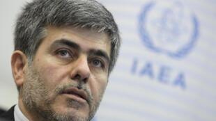 Iran's Head of Atomic Energy Organization Fereydoun Abbasi-Davani