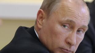 Ông Vladimir Poutine, Tổng thống Nga, ngày 28/04/ 2014, tại Petrozavodsk.