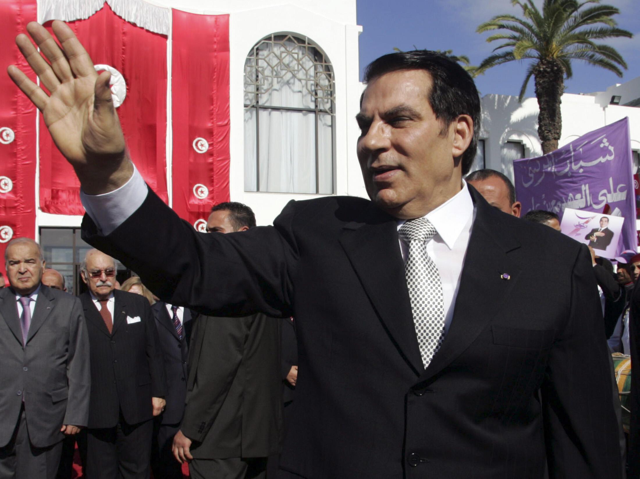 Tổng thống Tunisia Ben Ali