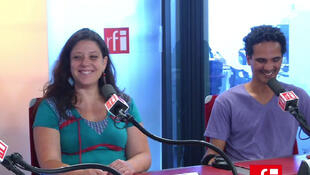 Claire Luzi e Cristiano Nascimento, do grupo Zé Boiadé
