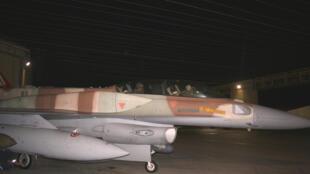 Chasseur F-16 israélien (image d'illustration).