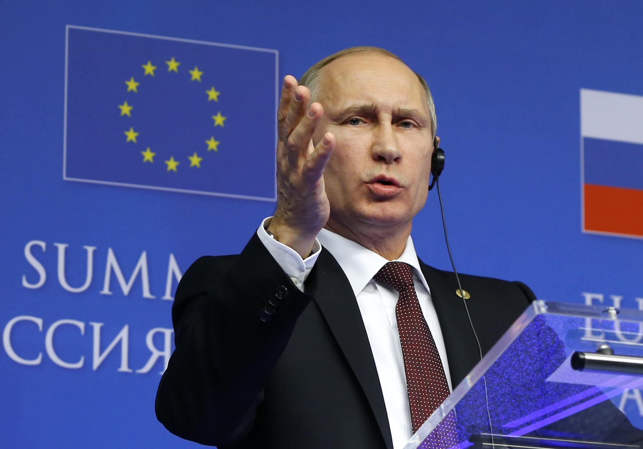 Rais wa Urusi Vladimir Putine akilaumu mataifa ya magharibi kuhusu mzozo wa Ukraine.