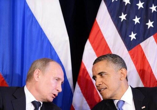 Tổng thống Obama và người đồng nhiệm Nga Putin ngày 18/6/2012 bên Thượng đỉnh G20 tại Los Cabos.