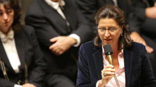 Agnès Buzyn, ministre des Solidarités et de la Santé, à la l'Assemblée nationale, le 26 septembre 2017.