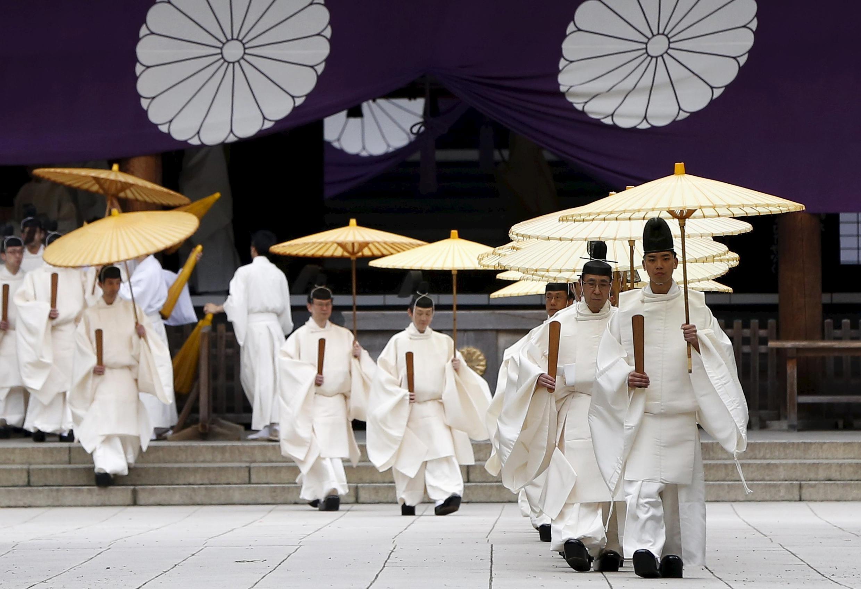 日本靖國神社春祭現場資料