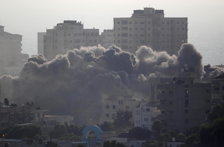 Israila ta kai hare hare a yankin Gaza