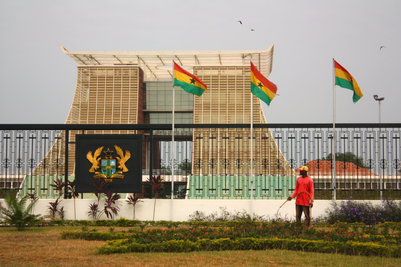 Le palais présidentiel du Ghana, situé à Accra, la capitale.