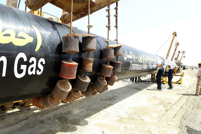 Газопровод в Иране.