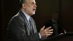 O presidente do Federal Reserve (Fed), Ben Bernanke falou durante coletiva na Casa Branca nesta quarta-feira, 18 de setembro.
