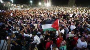 Ramallah, concert de Mohamed Assaf.