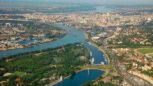 Une vue de Belgrade en Serbie (image d'illustration).