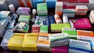 Une saisie de faux médicaments (image d'illustration).
